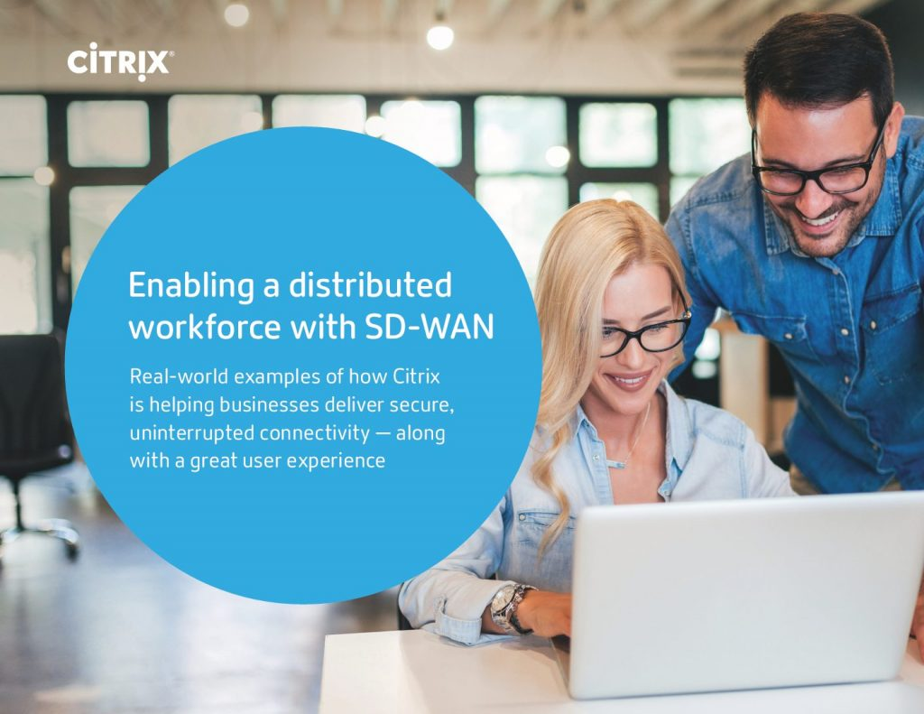 Enabling the Distributed Enterprise with SD-WAN