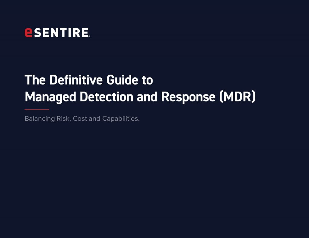 The Definitive Guide to Managed Detection and Response (MDR)