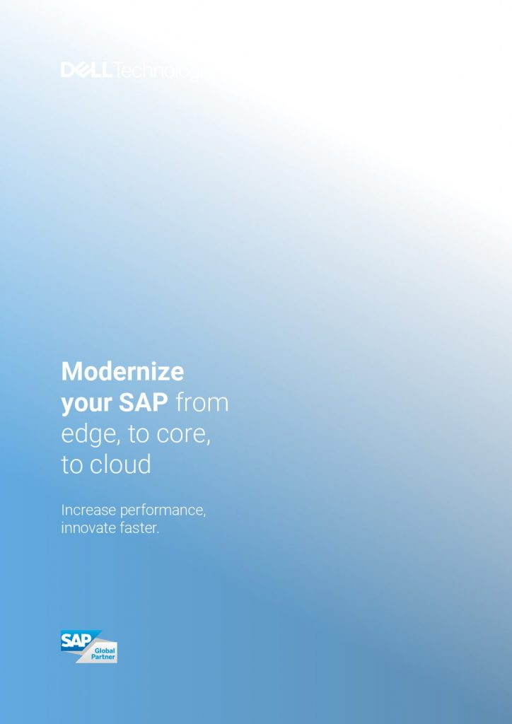 Modernize your SAP from edge, to core, to cloud – eGuide