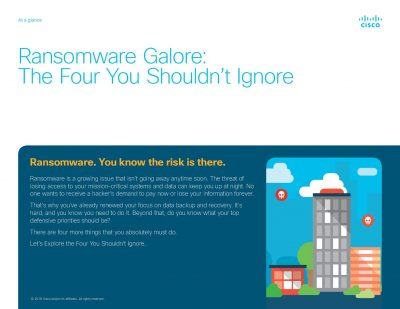 Ransomware galore: the four you shouldn't ignore