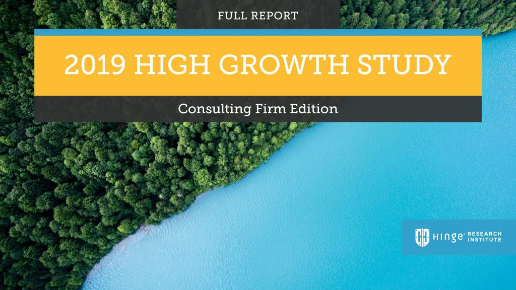 What are the Secrets to High Growth for Consultancies?