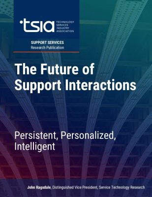 TSIA: The Future of Support Interactions