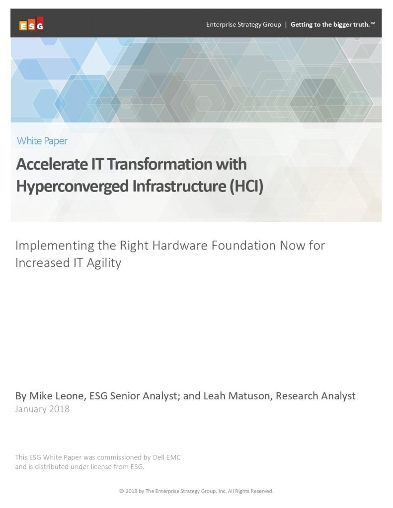 How To Drive Innovation And Agility With Hyperconverged Infrastructure