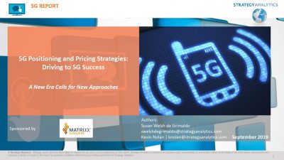 5G Positioning  and  Pricing Strategies