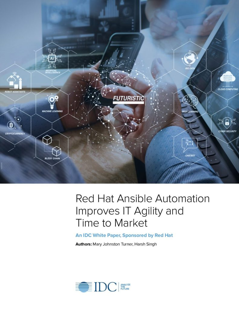 Red Hat Ansible Automation Improves IT Agility and Time to Market