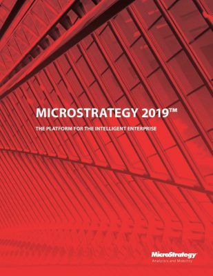 MicroStrategy 2019 Whitepaper
