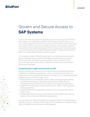 The Best Way to Simplify Security for SAP & All Your Applications