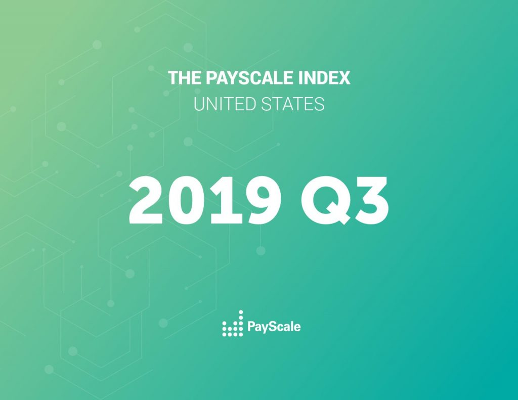 2019 Q3 PayScale Index US