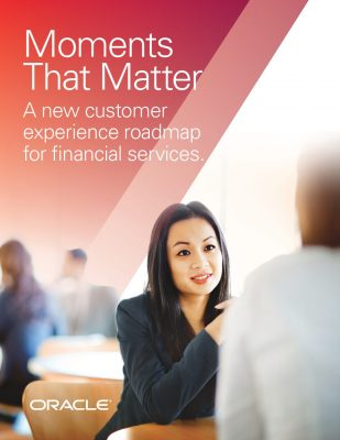 Moments that Matter: A new CX roadmap for financial services
