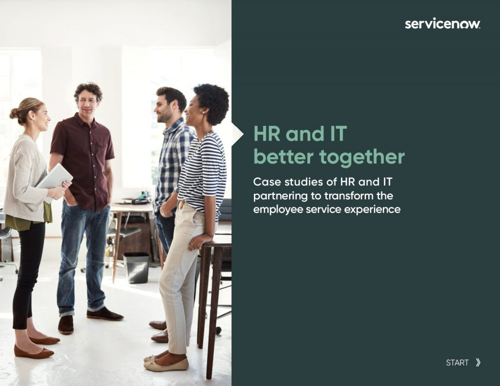 Case Studies: HR  and  IT Better Together