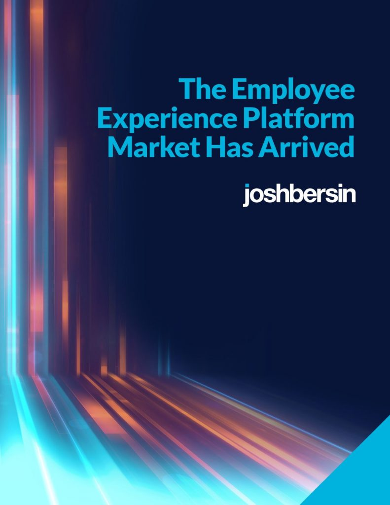 HR Analyst Report: Employee Experience Platform Has Arrived