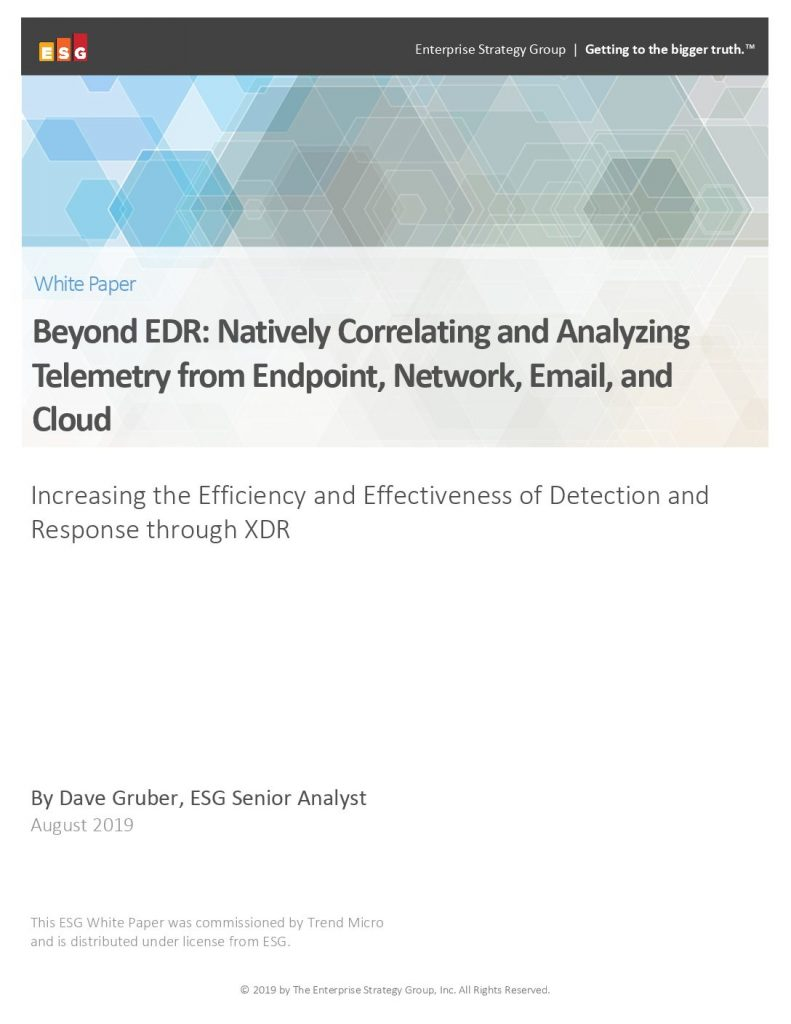 Beyond EDR: Natively Correlating and Analyzing Telemetry from Endpoint, Network, Email, and Cloud