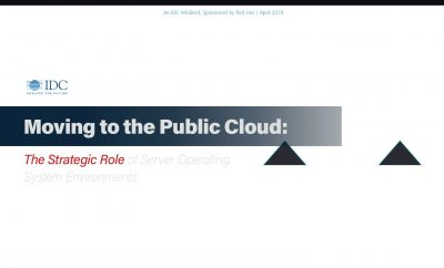 IDC: Moving To The Public Cloud