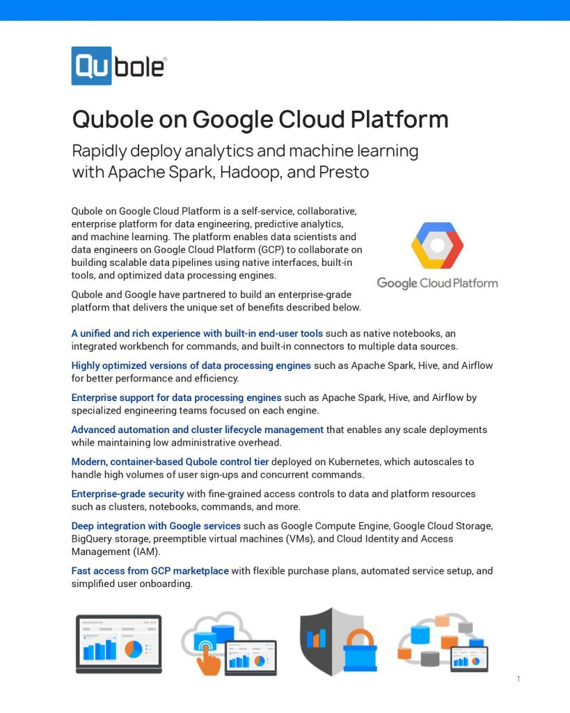Qubole on Google Cloud Platform