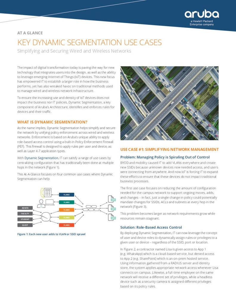 KEY DYNAMIC SEGMENTATION USE CASES