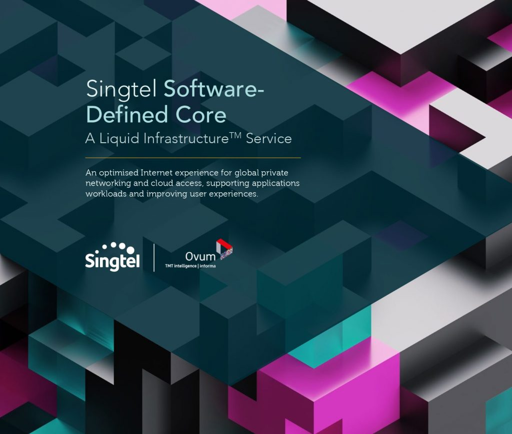 Singtel Software-Defined Core – A Liquid Infrastructure Service