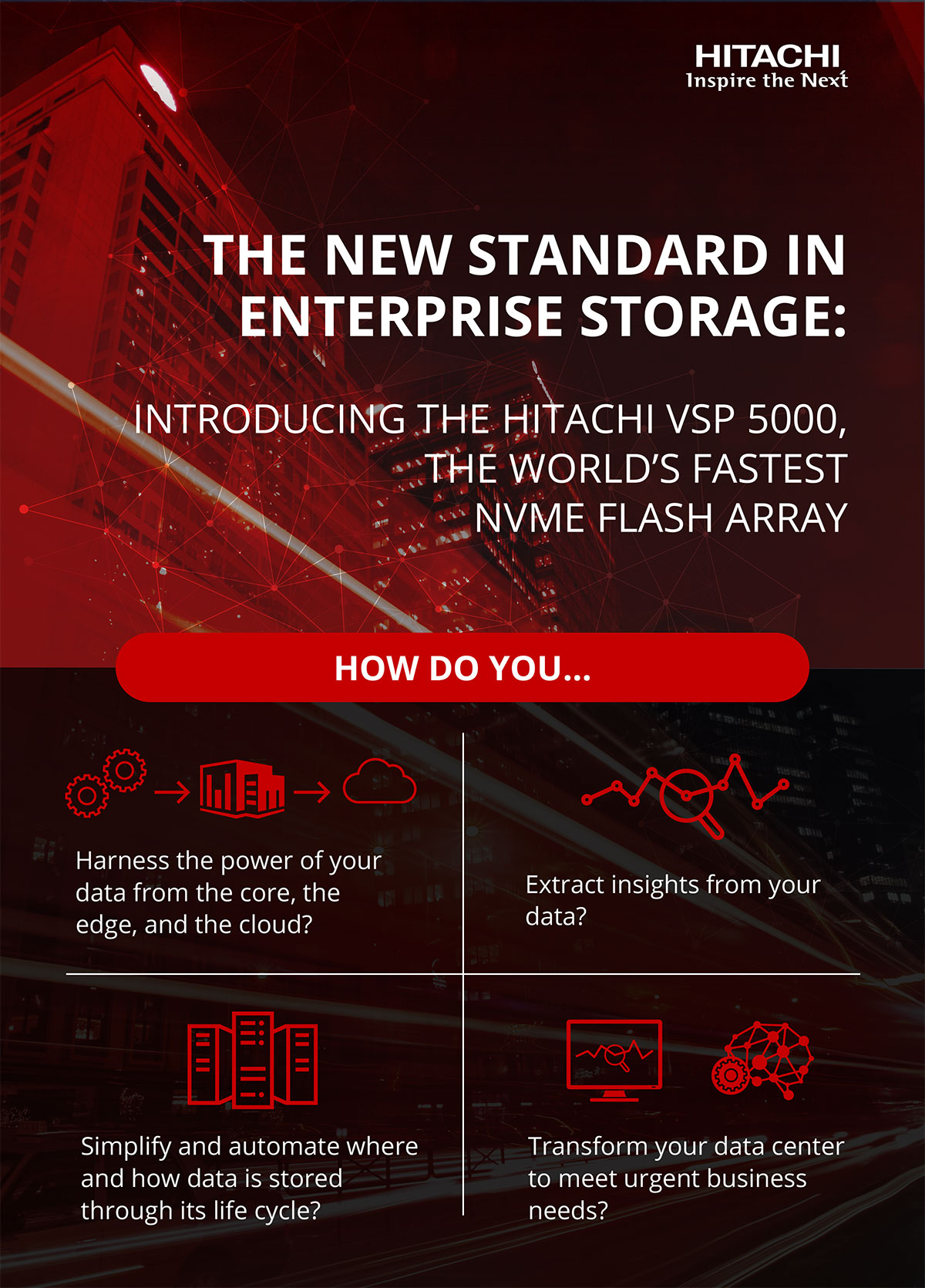 The New Standard in Enterprise Storage