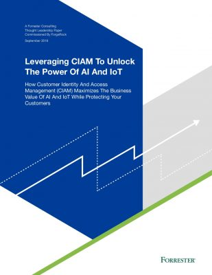 Leveraging CIAM to Unlock The Power of AI and IoT