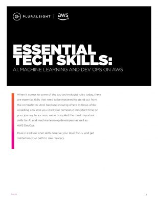 Essential Tech Skills: Ai, Machine Learning And DEV OPS on AWS
