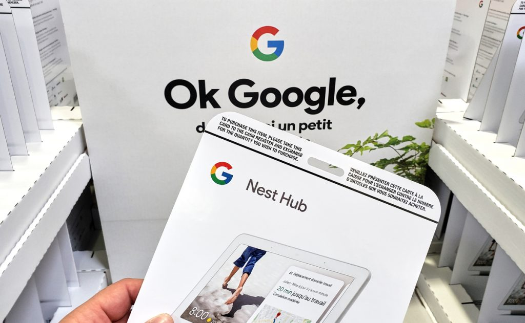 Google on how Nest Hubs Understands what's Important to be Displayed