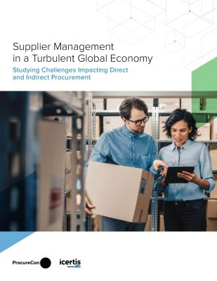 Supplier Management in a Turbulent Global Economy