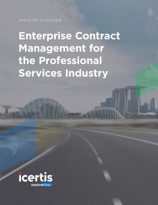 Enterprise Contract Management for the Professional Services Industry
