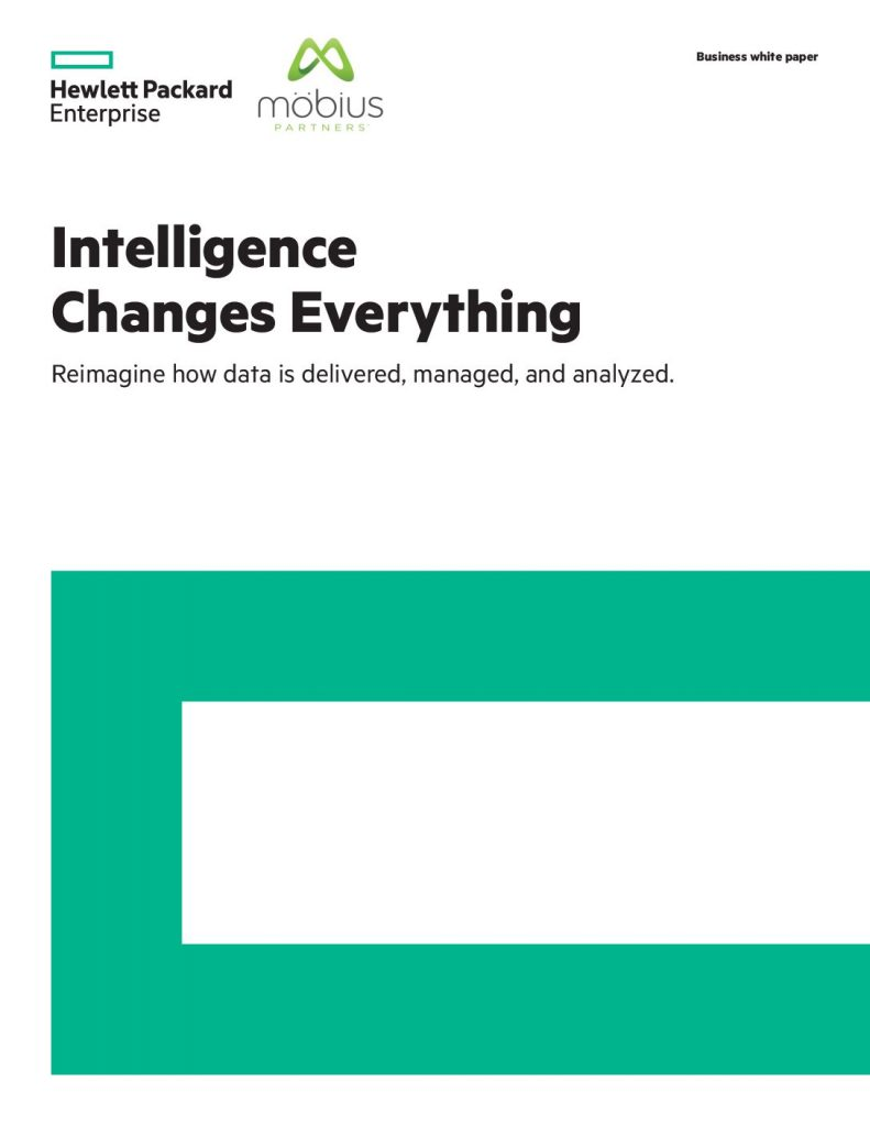 Intelligence Changes Everything