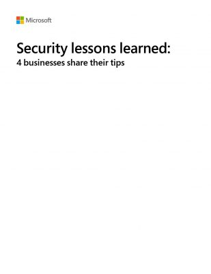 Security Lessons Learned