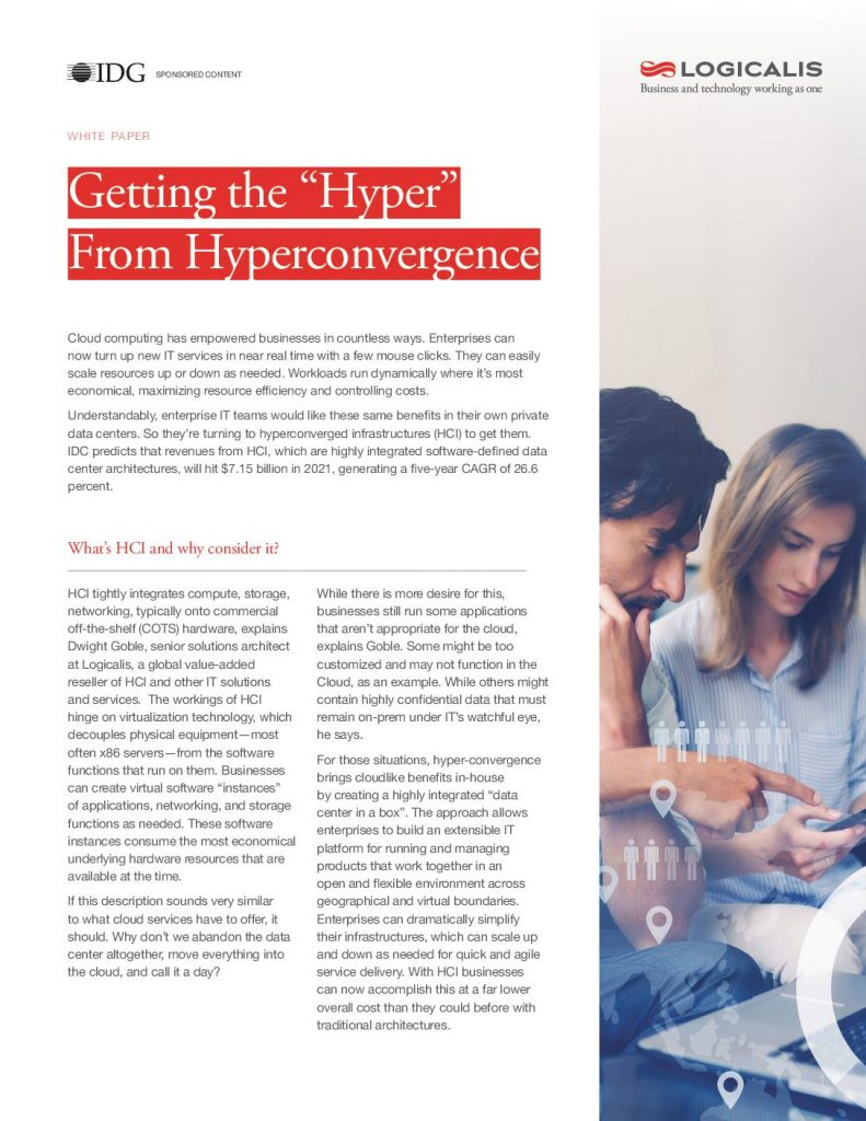 "Getting the ""Hyper"" From Hyperconvergence"