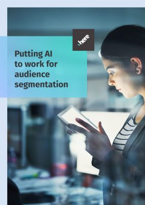 Putting AI (Artificial Intelligence) to work for audience segmentation