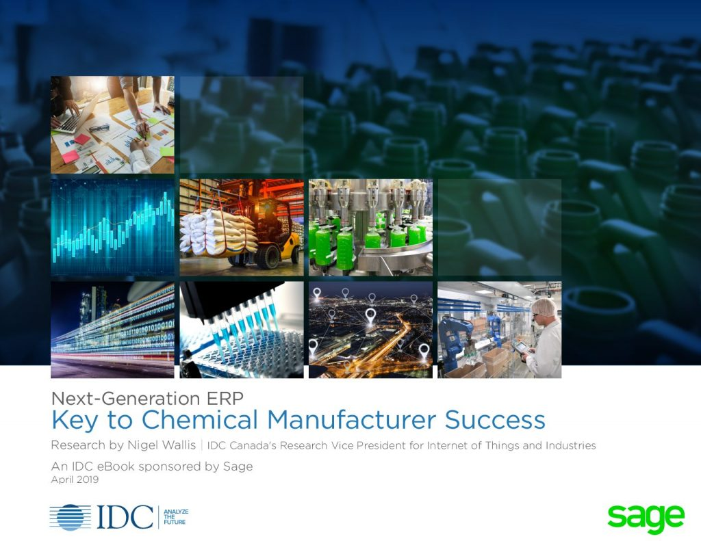 Next-Generation ERP-Key to Chemical Manufacturer Success