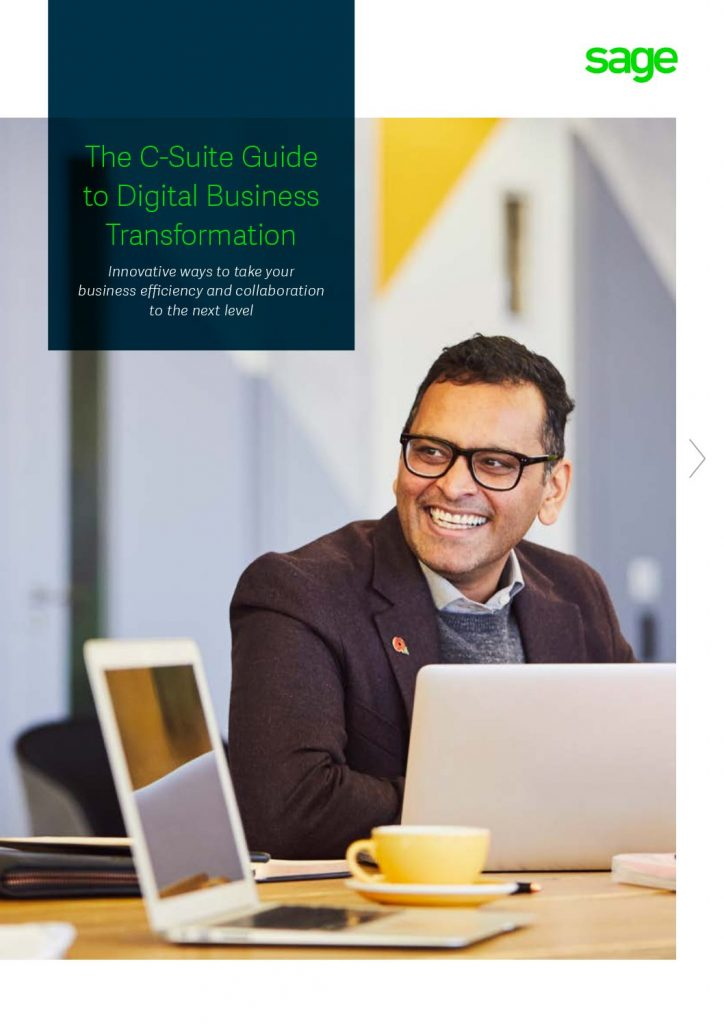The C-Suite Guide to Digital Business Transformation