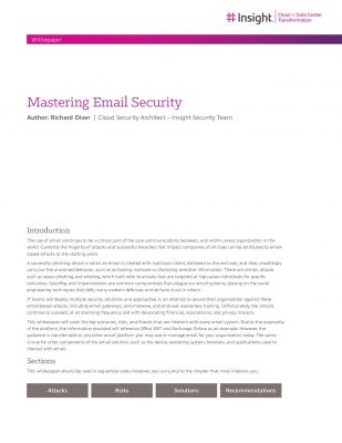 Mastering Email Security