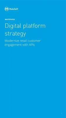 Modernize retail customer engagement with APIs