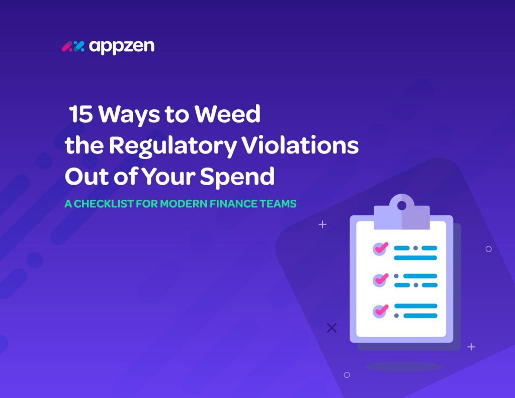 15 Ways to Weed the Regulatory Violations Out of Your Spend
