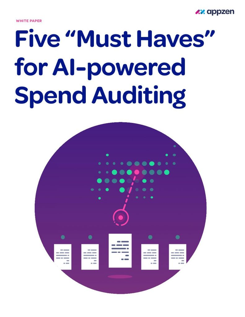 "Five ""Must Haves"" for AI-powered Spend Auditing"