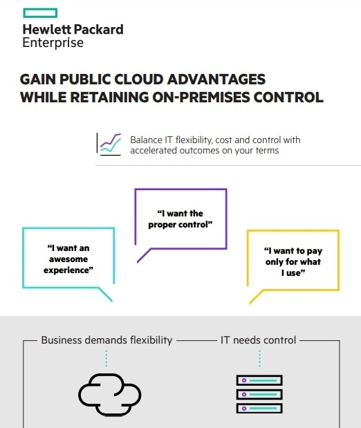 Gain Public Cloud Advantages While Retaining On-Premises Control