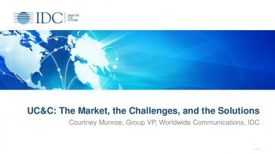 UC and C: The Market, the Challenges, and the Solutions