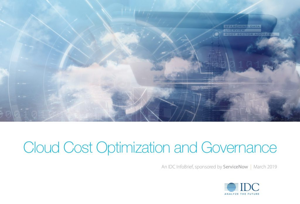 IDC: Cloud cost optimization and governance