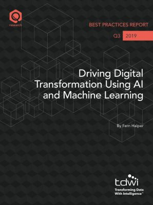 Driving Digital Transformation Using AI and Machine Learning