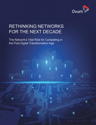 Rethinking Networks for the Next Decade