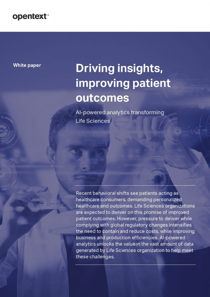Driving Insights, Improving Patient Outcomes with AI-powered analytics in Life Science