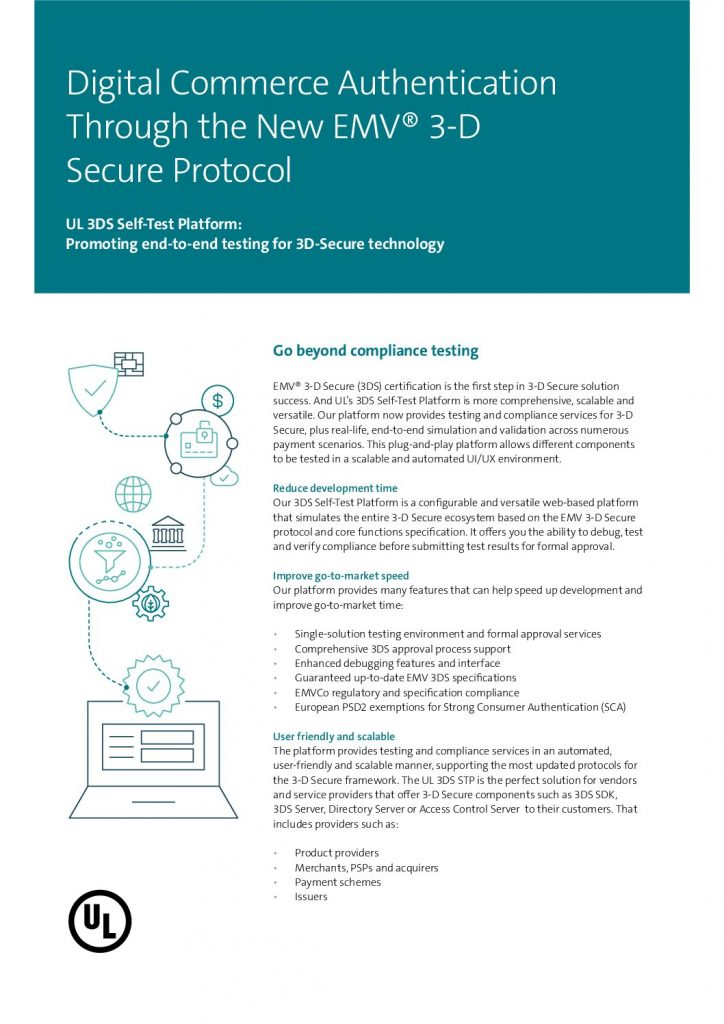 Digital Commerce Authentication Through the New EMV® 3-D Secure Protocol