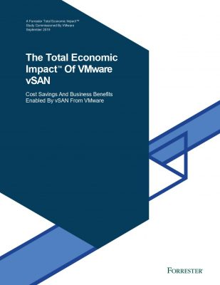 The Total Economic Impact of Vmware vSAN