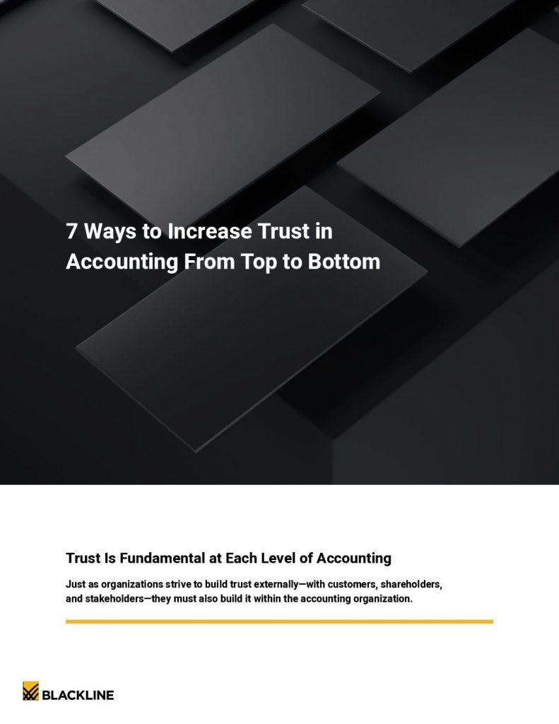 7 Ways to Increase Trust in Accounting from Top to Bottom