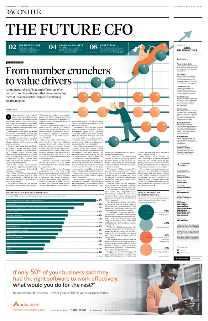 CFO Evolution: From Number Crunchers to Value Drivers