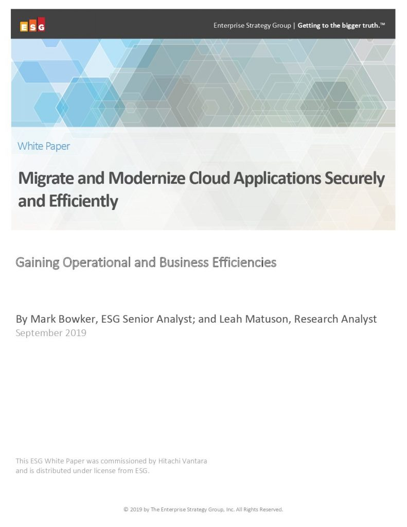 Migrate and Modernize Cloud Applications Securely and Efficiently