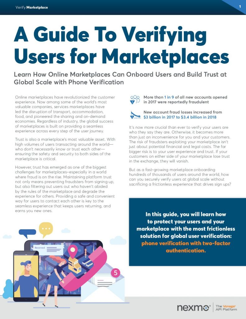 A Guide To Verifying Users for Marketplaces