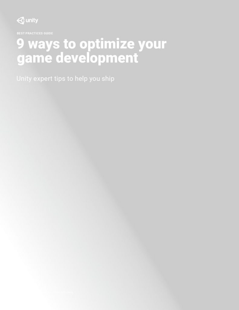 9 Ways To Optimize Your Game Development