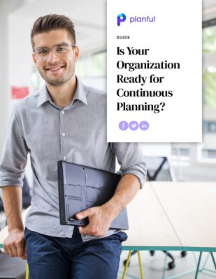 Guide: Is Your Organization Ready for Continuous Planning?